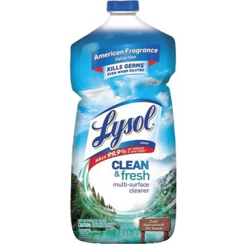 LYSOL® Brand Clean & Fresh Multi-Surface Cleaner, Cool Adirondack Air, 40 oz Bottle