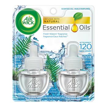 Air Wick® Scented Oil Refill, Fresh Waters, 0.67oz, 2/PK