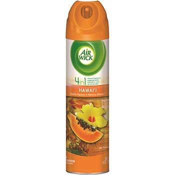 4 in 1 Aerosol Air Freshener, 8 oz Can, Hawaii Exotic Papaya & Hibiscus Flower