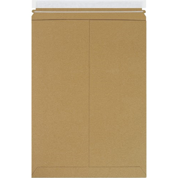 """W.B. Mason Co. Utility Flat Mailers, 10 1/2"""" x 15"""", Kraft, 200/CS"""
