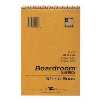 "Roaring Spring® Steno Notebook, 6"" x 9"""