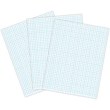"Pacon® Graph Paper, Three-Hole Punched, 8.5"" x 11"", 500/RM"