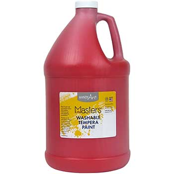Handy Art® Little Masters™ Washable Paint, 1 Gallon, Red