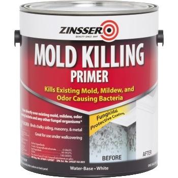 Rust-Oleum® Mold Killing Primer, White, 1 gal Pail