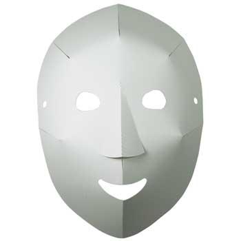 "Roylco® Folding Fun Masks, 8-1/4"" x 10-1/2"", 40/PK"