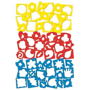 Roylco® Fine Motor Skills Silly Stencils