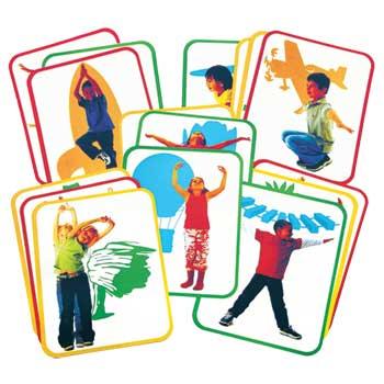 Roylco® Body Poetry: Yoga Cards