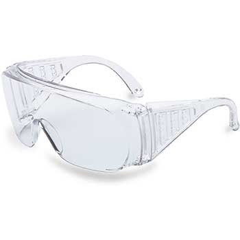 Uvex™ Ultra-spec® 2000 Safety Glasses, Gray, Clear Lens