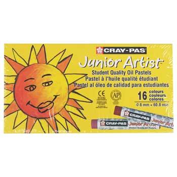 Sakura Cray-Pas Junior Artist Oil Pastels, 16/PK