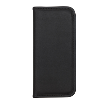Professional Business Card Organizer with Padded Cover, Card Holder for 160 Cards, Black