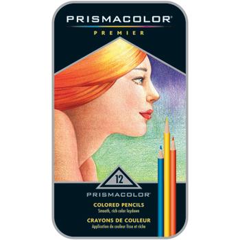 Prismacolor® Premier Colored Pencils, Assorted, 12/ST