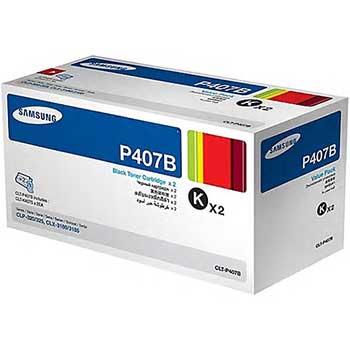 Samsung CLT-P407B (SU386A) Toner, 1500 Page-Yield, Black