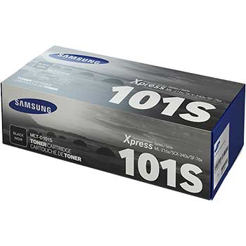 Samsung MLT-D101S (SU700A) High-Yield Toner, 1500 Page-Yield, Black