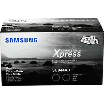 Samsung MLT-D116S Toner Cartridge, Black, 2/PK
