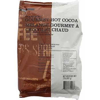 Starbucks® Hot Cocoa Mix, Bulk 2 lb. Bags, 6/CT
