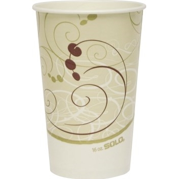 Paper Cold Cups, 12 SQ oz., Symphony Design, 2000/CT