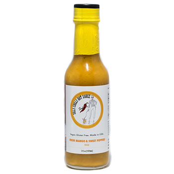 Silly Chilly Hot Sauce Fresh Mango and Sweet Peppers, Mild 5 oz., 12/CS