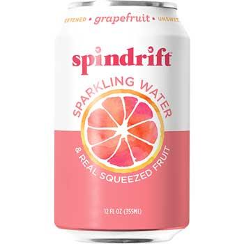Spindrift® Sparkling Water, Grapefruit, 12 oz., 24/CS