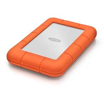 Lacie® 2TB Rugged Mini, 7200 rpm, USB 3.0