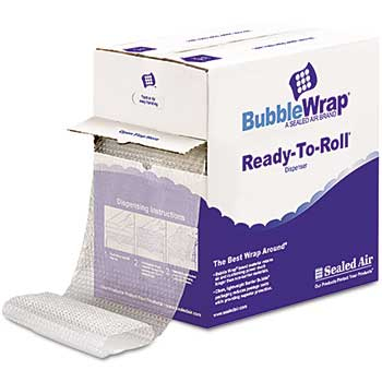 """Bubble Wrap Cushioning Material, 5/16"""" Thick, 12"""" x 100 ft."""