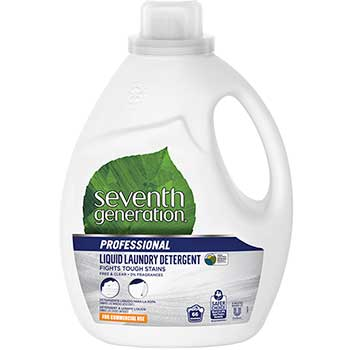 Professional Liquid Laundry Detergent, Free & Clear/Unscented, 66 Loads, 100 oz