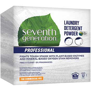 Professional Powder Laundry Detergent, Free & Clear/Unscented, 70 Loads, 112 oz