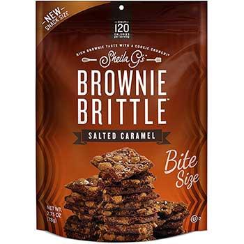 Sheila G's Brownie Brittle™, Salted Caramel, 2.75 oz., 8/CS