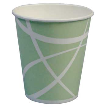 Paper Cold Cup, Standard, 16 oz, Light Green, 1000/CT