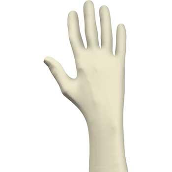 SHOWA 5005PF Rubber Glove, Powder Free, Disposable, XL, 100/BX