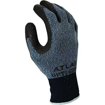 SHOWA 341 Atlas General Purpose Glove, Gray, Waterproof, Large, 12/PK