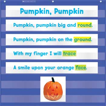 Scholastic Mini Pocket Chart