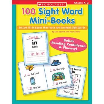 Scholastic 100 Sight Words Mini Books