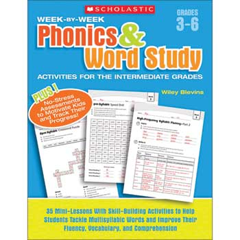 Scholastic Week by Week Phonics and Word Study Activities