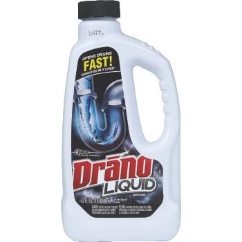 Liquid Clog Remover, 32 oz. Bottle, Unscented