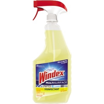 Multi-Surface Disinfectant Cleaner, 26 oz. Spray Bottle, Lemon Scent