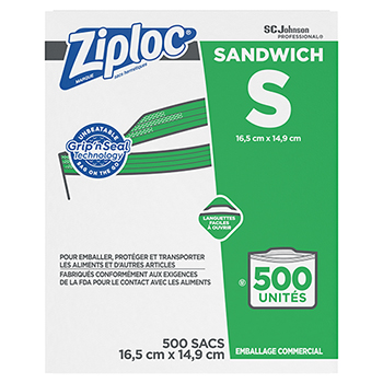 Resealable Sandwich Bags, 1.2mil, 6 1/2 x 6, Clear, 500/BX