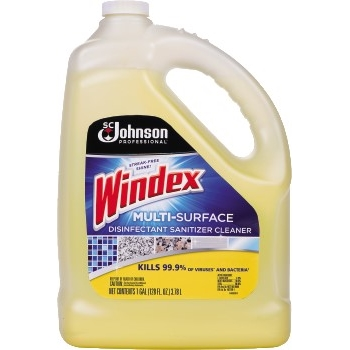 Multi-Surface Disinfectant Cleaner, 1 gal. Bottle, Lemon Scent