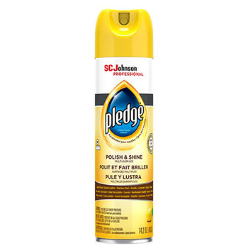 Pledge® Polish and Shine Multiple-Purpose Cleaner, 14.2 oz.