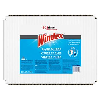 Windex® Powerized Formula Glass/Surface Cleaner, 5gal Bag-in-Box Dispenser