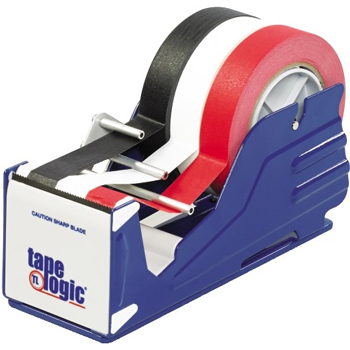 "Tape Logic® Multi Roll Table Top Dispenser, 3"", Blue"
