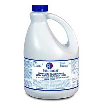 Germicidal Ultra Bleach, 1 gal. Bottle, Unscented, 6/CT