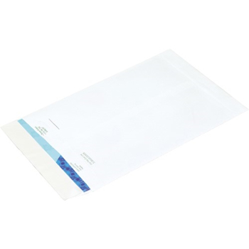 "W.B. Mason Co. Ship-Lite Flat Envelopes, 9"" x 12"", White, 100/CS"