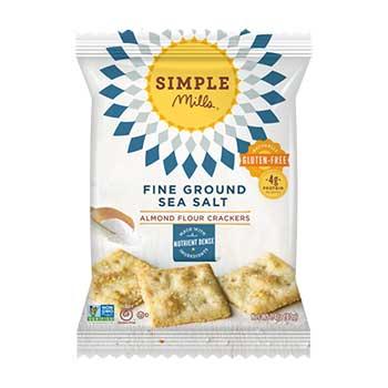 Simple Mills® Sea Salt Almond Crackers, 1.4 oz., 24/CS