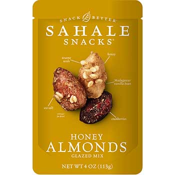 Sahale Snacks® Almonds with Cranberry Honey Sea Salt, 4 oz., 6/CS