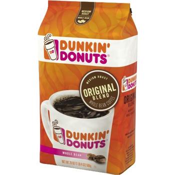 Dunkin' Donuts® Whole Bean Coffee, Original Blend, 20 oz. Bag
