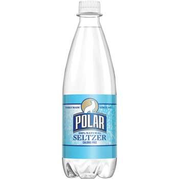 Polar® Seltzer Water, Original, 20 oz., 24/CS