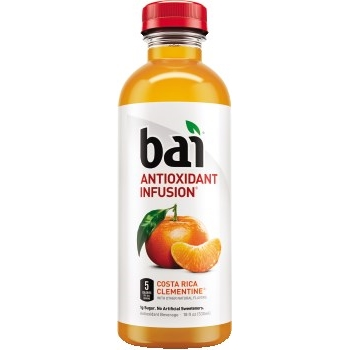 Bai® Antioxidant Infused Drinks, Costa Rica Clementine, 18 oz., 12/CS