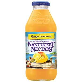 Nantucket Nectars® Mango Lemonade, 16 oz. Glass Bottle, 24/CS