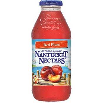 Nantucket Nectars® Red Plum Lemonade, 16 oz. Glass Bottle, 24/CS