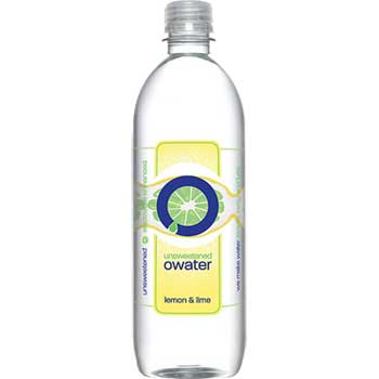 Natural Flavored Water, Lemon & Lime, 20 oz., 12/CS